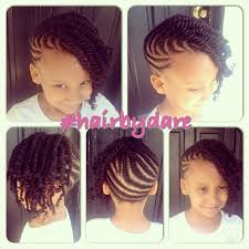 young black american women hair style corn row based cornrow and twists updo combo style hairbydare kid hairstyles