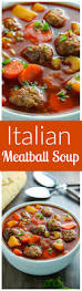 italian meatball soup baker by nature