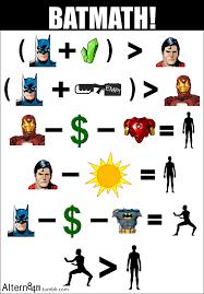Batman Superman Meme - batmath