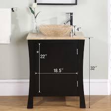 18 In Bathroom Vanity Cabinet by 26 U201d Perfecta Pa 175 Bathroom Vanity Single Sink Cabinet