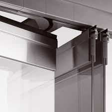 sliding glass door mechanism accessories awesome multi track sliding door rails system with
