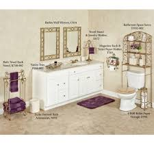 Space Saver Furniture For Bathroom by Aldabella Satin Gold Bathroom Space Saver
