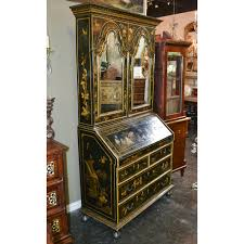 Antique Secretary Desk With Bookcase by 19th Century English Chinoiserie Secretary Legacy Antiques