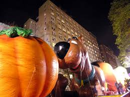 wednesday the macy s thanksgiving balloon inflation
