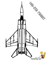 mighty military airplane coloring fighter jets free airplane