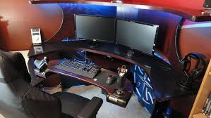 Gameing Desks Furniture Amazing Gaming Desks Design Home Decor Gallery