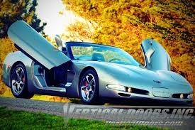 1997 corvette c5 c zlr door kit available at vertical doors inc shop