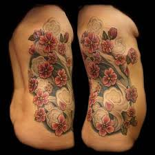 cherry blossom women tattoo art and designs page 4