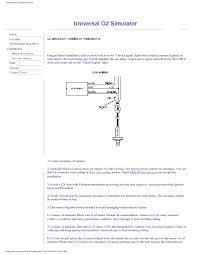 check engine light goes on and off o2 sensor installation manual for universal o2 simulator oxygen sensor