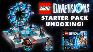 Dimensions by Lego Dimensions Starter Pack Unboxing Ps4 Youtube