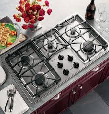 Ge Profile Gas Cooktop 30 Kitchen Great Ge Pgp943setss 30 Inch Gas Cooktop With 4 Sealed