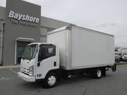 isuzu box van trucks for sale
