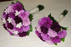 Purple Carnations Purple Carnation Wedding Bouquets Florigene Carnations And U2026 Flickr