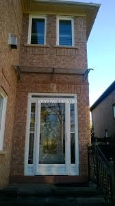 Large Awning Front Doors Simple Overhang Canopy Awning Hood Over Front Door