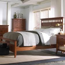Bedroom Furniture Shelves by Shaker Bedroom Furniture Furniture Brown Laminated Bed Frame