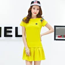 women tennis suit summer casual sportswear female cotton tennis