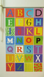 magnetic alphabet wall art education magnets colorful