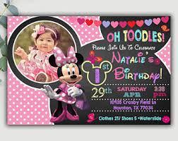 minnie mouse invitations invitaciones de minnie mouse minnie mouse cumpleaños invitación