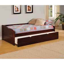 bedroom traditional wooden twin bed design for kids with white
