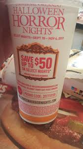 100 halloween horror nights promo code collection how much