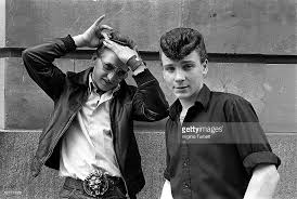 the teddy boys hairstyle teddy boys pictures getty images