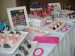 custom candy buffet pink swan events