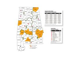 Alabama Time Zone Map by Alabama Deer Forecast For 2016 Game U0026 Fish