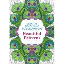 beautiful patterns colouring books