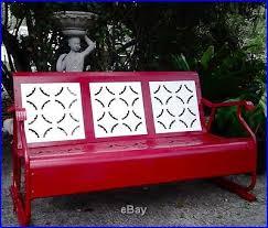 metal patio glider bench patio decoration ideas