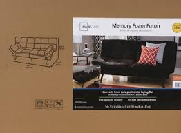 mainstays memory foam futon multiple colors 2017 review update
