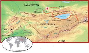 Bishkek Map Adventures In Central Asia Kyrgyzstan