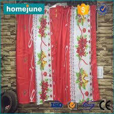 peach kitchen curtains very popular cheap price 3pcs set western christmas kitchen