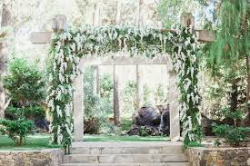 Wedding Arch Greenery Rustic Chic Wedding With Wooden Accents And Verdant Details