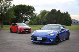 subaru brz vs scion frs vs toyota gt86 comparison review 2016 subaru brz vs 2015 ford focus st