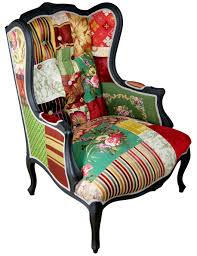 matt bloom by kelly swallow upcycled patchwork chair sable u0026 ox