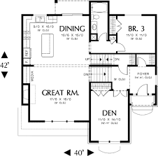 split level house plan garage split level plan 69133am architectural designs
