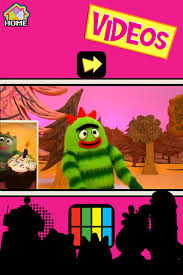 yo gabba gabba friends app review yogabbagabba food