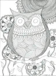 coloring page for adults owl coloring pages of owls for adults nature mandalas owl by coloring