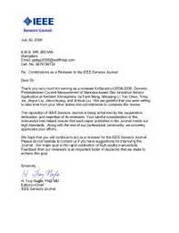 17 ieee cover letter example academic reference letter format