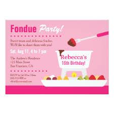 chocolate party invitations u0026 announcements zazzle