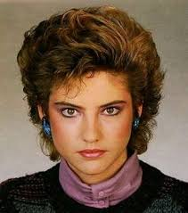 1980s short wavy hairstyles the eighties hair inspirations pinterest bangs 80s hair and