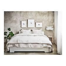 Askvoll Hack Askvoll Bed Frame White Luröy Standard King Bed Frames Bedrooms