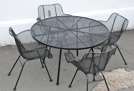 Metal Mesh Patio Table Metal Mesh Patio Furniture