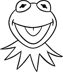 muppets kermit happy frog coloring pages wecoloringpage