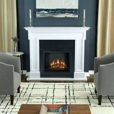 Freestanding Electric Fireplace Real Flame Fireplace Insert White Real Flame Freestanding Electric