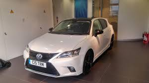 lexus sport uk new ct200h sport in uk