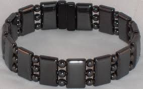 black magnetic bracelet images Triple magnetic hematite bracelets jpg