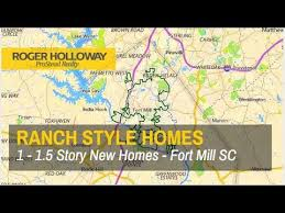new ranch style homes for sale in fort mill sc youtube