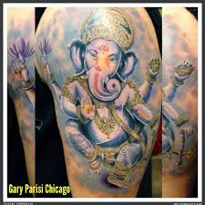 ganesha realistic tattoo by gary parisi tattoo artists org