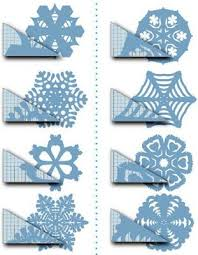 How To Make A Snowflakes Out Of Paper - other craft ideas on this page craft ideas snow